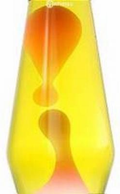 Fles Astro Geel/Oranje