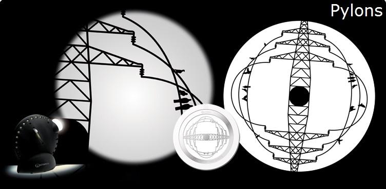 Space Projector met Gobo wiel