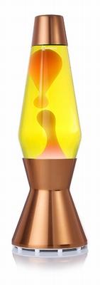 Astro Koper - Geel met Oranje lava