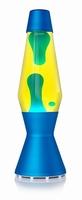 Astro Blauw - Geel met Blauw/Groene lava
