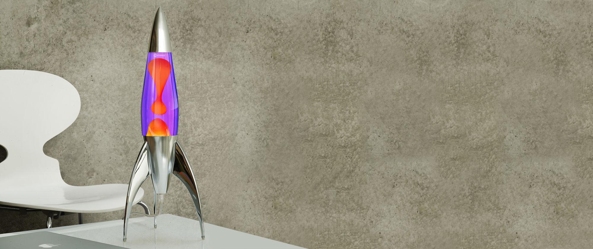 Mathmos Telstar Violet/Oranje