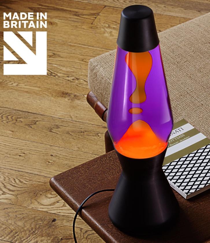 Mathmos Astro Zwart Violet/Oranje