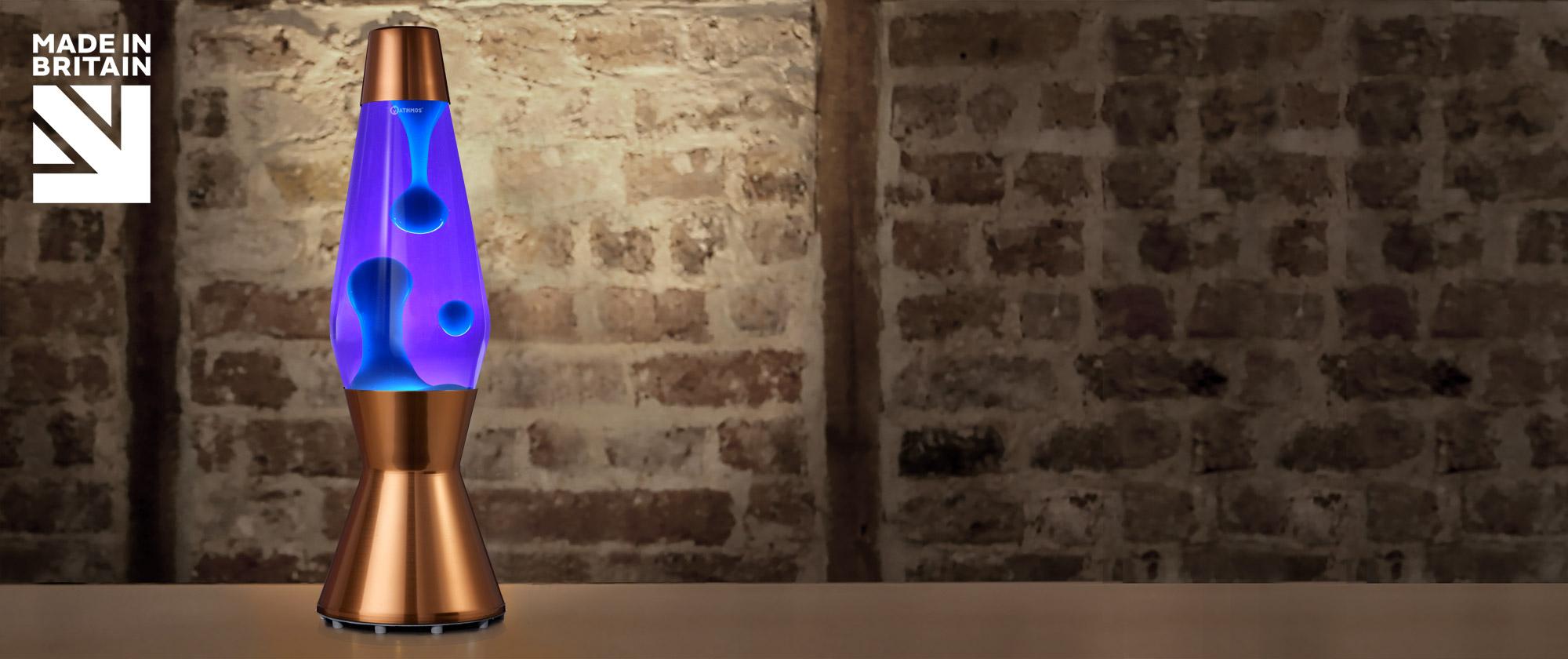 Mathmos Astro Koper Violet/Turquoise