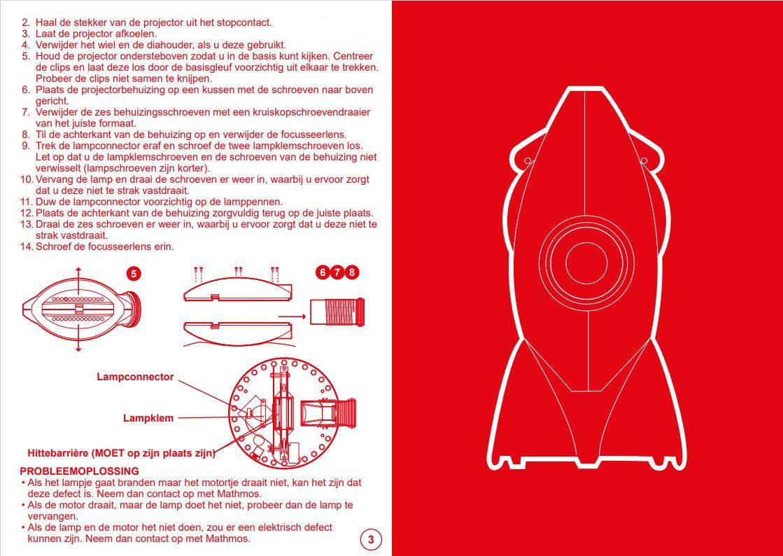 Handleiding Space Projector