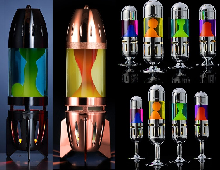 Mathmos theelicht lavalampen