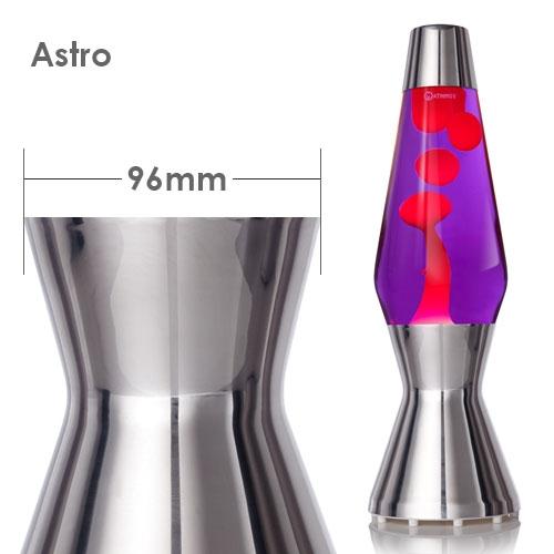 Fles Astro lavalamp