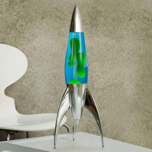 Mathmos Telstar Raket lavalamp